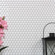 Nordic Kakel Mosaik Hexagon 26X30-Vit
