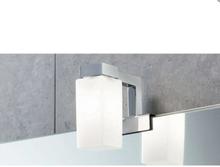 Hefe Pegaso speillampe t/speilkant, krom