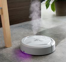4-i-1 oppladbar robotmopp med UV-desinfeksjon og luftfukter