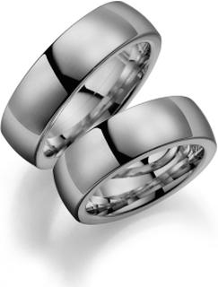Förlovningsring 18k vitguld Ocean 233-7