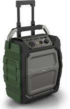 Nikkei højttaler med mikrofon SPEAKERBOXX500 50 W grå og grøn