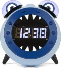 Nikkei projektionsur til børn med FM-radio NR280PSHARK blå