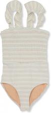 UV Baddräkt Vintage stripe (Storlek: 5-6 år)