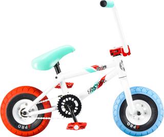 Rocker Irok+ Smiler Mini BMX Cykel Vit