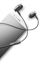 Cellularline Voice In-Ear Høretelefoner med mikrofon, Sort