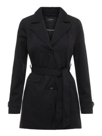 VERO MODA Transitional Jacket Women Black