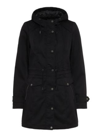 VERO MODA Long Jacket Women Black