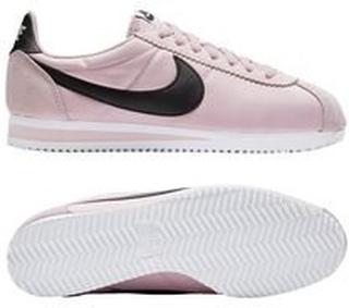 Nike Classic Cortez Nylon - Rosa/Sort/Hvit Dame