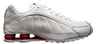 Nike Sneaker Shox NJR R4 - Platinum LIMITED EDITION