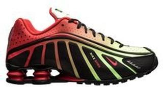 Nike Shox NJR R4 - Sort/Rød/Sølv LIMITED EDITION