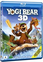 3D Blu-ray - Yogi Bear 3D (2 disc)(Blu-ray + 3D)