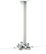 SMS SMS Projector Precision CM F 380 - Aluminium/Vit, Max belastning 20kg, 380mm totallängd (kapbar)