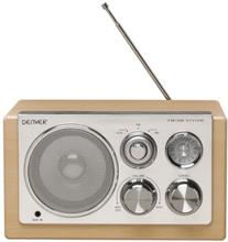 Denver AM/FM Radio TR-61 Lys Wood