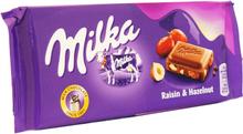 Mjölkchoklad Russin & Hasselnöt 100g - 23% rabatt