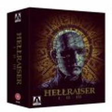 Hellraiser I II III (Blu-ray) (Tuonti)