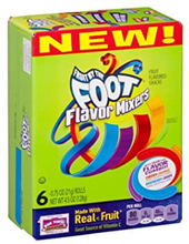 Fruits by the Foot Flavor Mixers 6 Rolls