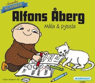 Alfons åberg, minibok, måla & pyssla