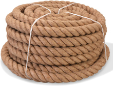 vidaXL Rep 100% Jute 30 mm 30 m
