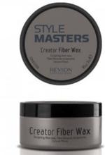 2 - Pack Revlon Style Masters Creator Fiber Wax 85g