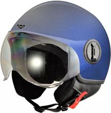 Hjälm för motorcykel - blå - M