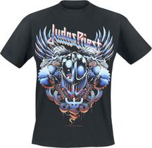 Judas Priest - Painkiller Steel Man -T-skjorte - svart