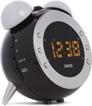 Nikkei projektionsur med FM radio NR280P sort