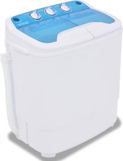 vidaXL Minitvättmaskin med dubbla trummor 5,6 kg