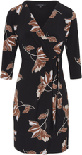 Jersey-Kleid 3/4-Arm comma, mehrfarbig