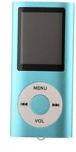 Slim MP3-afspiller med FM-radio-support - Blå