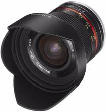 Samyang 12MM F/2.0 NCS CSC Fuji X Black