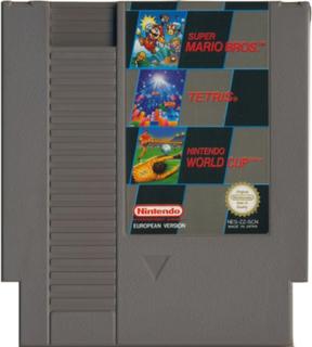 Super Mario Bros. / Tetris / Nintendo World Cup Nintendo - NES - Kassett