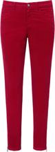 Byxa i smalspårig manchester från Peter Hahn röd