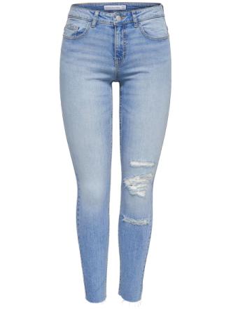 ONLY Jdyskinny Reg Flora Ankle Skinny Fit Jeans Women Blue