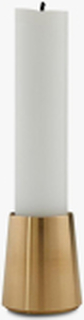 CONIC brass lysestage, 4 cm