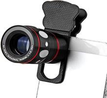 Mobilobjektiv ? Universal 4 i 1 (tele, vidvinkel/fisheye, makro)