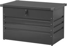 Pehmustelaatikko teräksinen grafiitinharmaa 100x62 cm CEBROSA