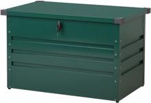 Pehmustelaatikko teräksinen tummanvihreä 100x62 cm CEBROSA