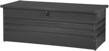 Pehmustelaatikko teräksinen grafiitinharmaa 165x70 cm CEBROSA