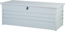 Pehmustelaatikko teräksinen luonnonvalkoinen 165x70 cm CEBROSA