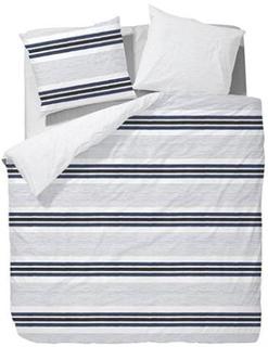 Marc OPolo Dobbelt sengesæt - 200x220 cm - Marc OPolo Malmo Marine sengetøj