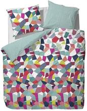 Essenza Dobbelt sengesæt - 200x200 cm - Essenza Gitte multi sengetøj