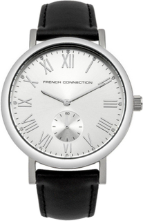 French Connection Fransk anslutning Womens Wrist Watch Silver Dial ...
