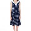 Vicky Sailor Collar dot dress