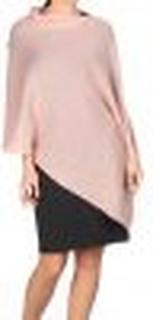 Asymmetric Poncho/ Tunic Pink
