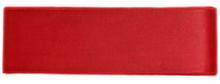 Rött Satinband 38 mm, 3 meter