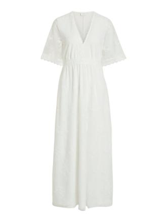 VILA Simple Maxi Dress Women White