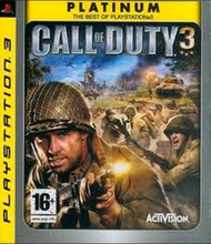 Call of Duty 3 (Platinum) (PS3)