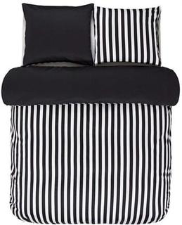 Marc OPolo Dobbelt sengesæt - 200x200 cm - Marc OPolo Classic stripe black sengetøj