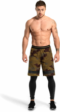 Better Bodies Fulton Shorts, military camo, large Shorts herr