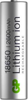 Uppladdningsbart batteri till ficklampor och pannlampor 18650 GP Batteries